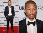 Pharrell Williams In Lanvin - 2012 Glamour Women of the Year Awards