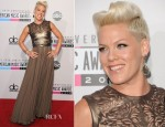 Pink In Catherine Deane - 2012 American Music Awards
