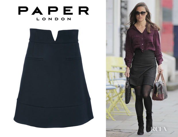 Pippa Middleton's Paper London Skirt