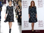Princess Beatrice In Erdem - 2012 British Fashion Awards