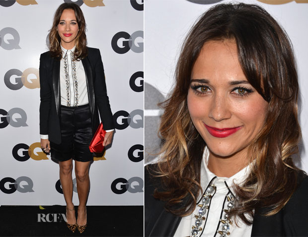 Rashida Jones In Boy by Band of Outsiders, Giorgio Armani & Marni - 2012 GQ Men of the Year Party