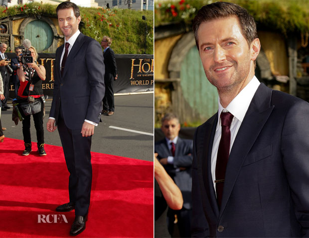 Richard Armitage In Zegna - 'The Hobbit An Unexpected Journey' World Premiere