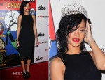 Rihanna In Dolce & Gabbana & The Row - Queen of the West Hollywood Halloween Carnaval Ceremony