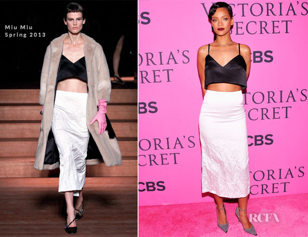 Rihanna In Miu Miu - 2012 Victoria's Secret Fashion Show