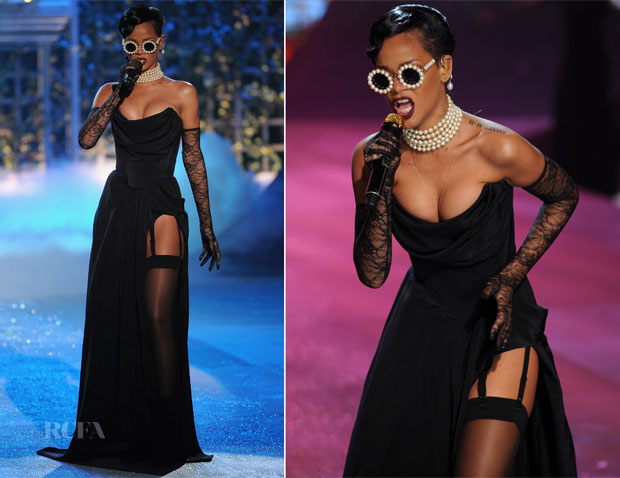 Rihanna In Vivienne Westwood - 2012 Victoria's Secret Fashion Show