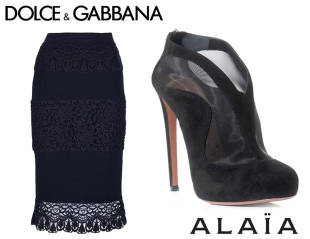 Rihanna in Dolce & Alaia