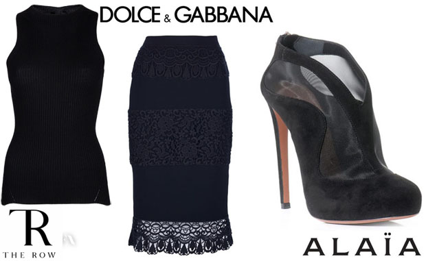 Rihanna in The Row, Dolce & Alaia