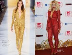 Rita Ora In  Alexandre Vauthier Couture - 2012 MTV EMAs Press Room