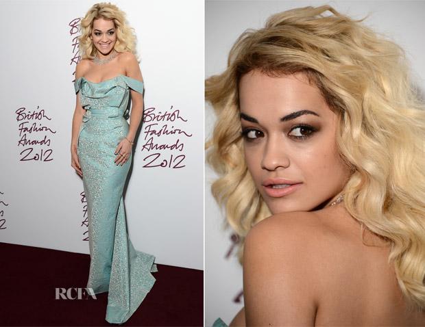 Rita Ora In Vivienne Westwood - 2012 British Fashion Awards