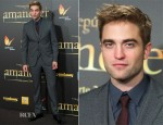 Robert Pattinson In Dolce & Gabbana - 'The Twilight Saga: Breaking Dawn – Part 2' Madrid Premiere