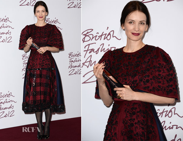 Roksanda Ilincic In Roksanda Ilincic - 2012 British Fashion Awards