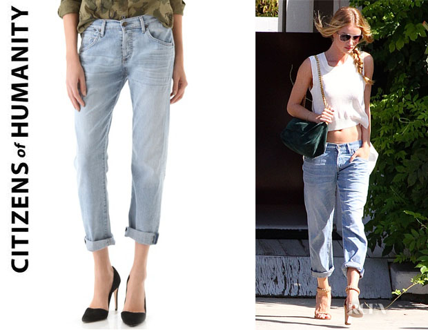 Rosie Huntington-Whiteley's Citizens of Humanity Dylan Boyfriend Jeans
