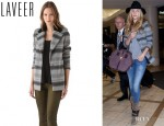 Rosie Huntington-Whiteley's Laveer Gibraltar Coat
