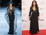Salma Hayek In Saint Laurent - 2012 Bambi Awards