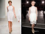 Saoirse Ronan In Simone Rocha -  'The Twilight Saga: Breaking Dawn – Part 2' LA Premiere