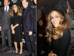 Sarah Jessica Parker In L'Wren Scott - 'Electric Holiday' Window Unveiling at Barneys New York