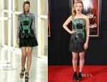 Scarlett Johansson In Rodarte - 'Hitchcock' New York Premiere