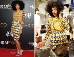 Solange Knowles In H&M - H&M Santa Fe Store Opening