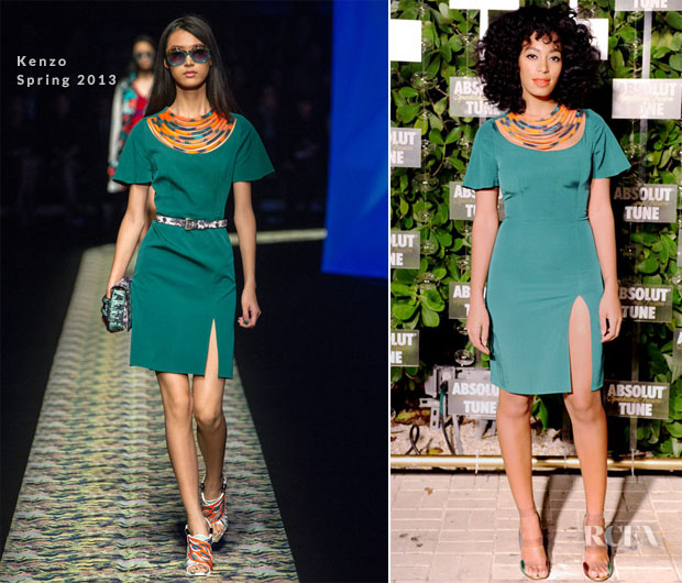 Solange Knowles In Kenzo - Absolut Tune Celebration