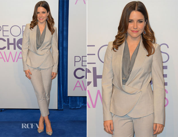 Sophia Bush In Vivenne Westwood - People's Choice Awards 2013 Nominations Press Conference