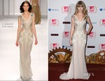Taylor Swift In J. Mendel - 2012 MTV EMAs