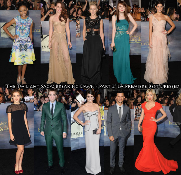 The Twilight Saga Breaking Dawn - Part 2 Best Dressed