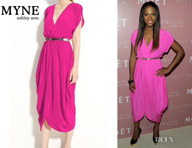 Tika Sumpter's Myne Heidi Dress