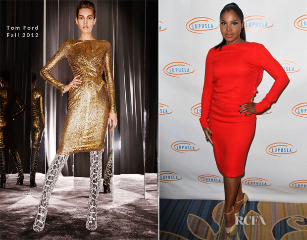 Toni Braxton In Tom Ford - 10th Annual Lupus LA Hollywood Bag Ladies Luncheon