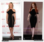 Who Wore Dion Lee Better...Charlize Theron or Lindsay Lohan?