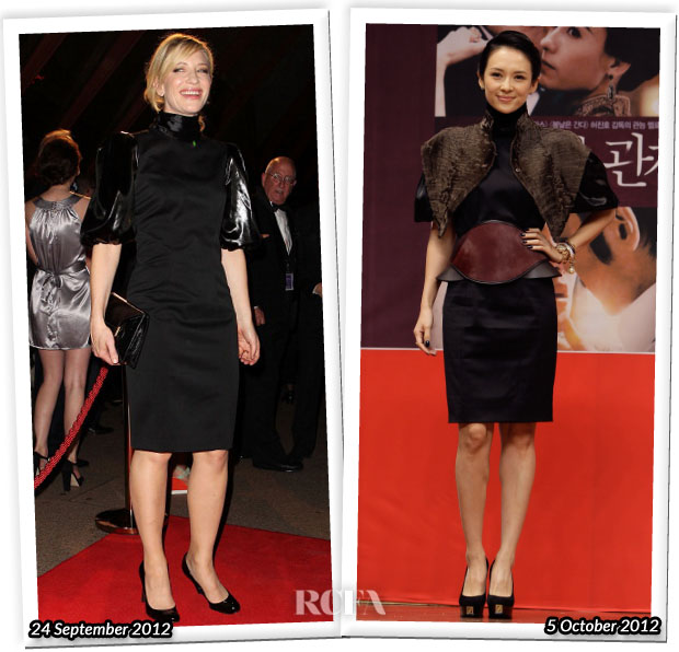 Who Wore Fendi Better Cate Blanchett or Zhang Ziyi