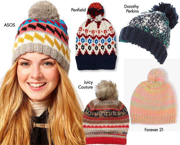 Celebrities Love Wool Pom-Pom Beanie Hats - Red Carpet Fashion Awards e57b6315425