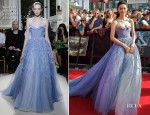 Yao Chen In Georges Hobeika Couture - 'The Hobbit: An Unexpected Journey' World Premiere