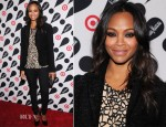 Zoe Saldana - L'Agence & Rag & Bone - Target + Neiman Marcus Holiday Collection Launch Event
