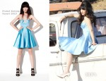 Zooey Deschanel In Prabal Gurung - LA Photoshoot