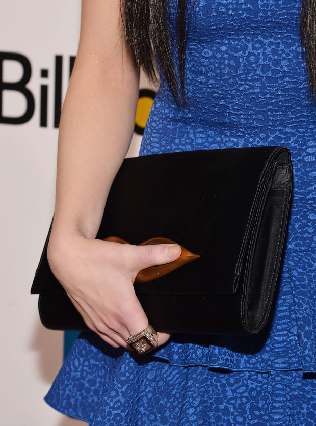 Carly Rae Jepsen's DVF clutch