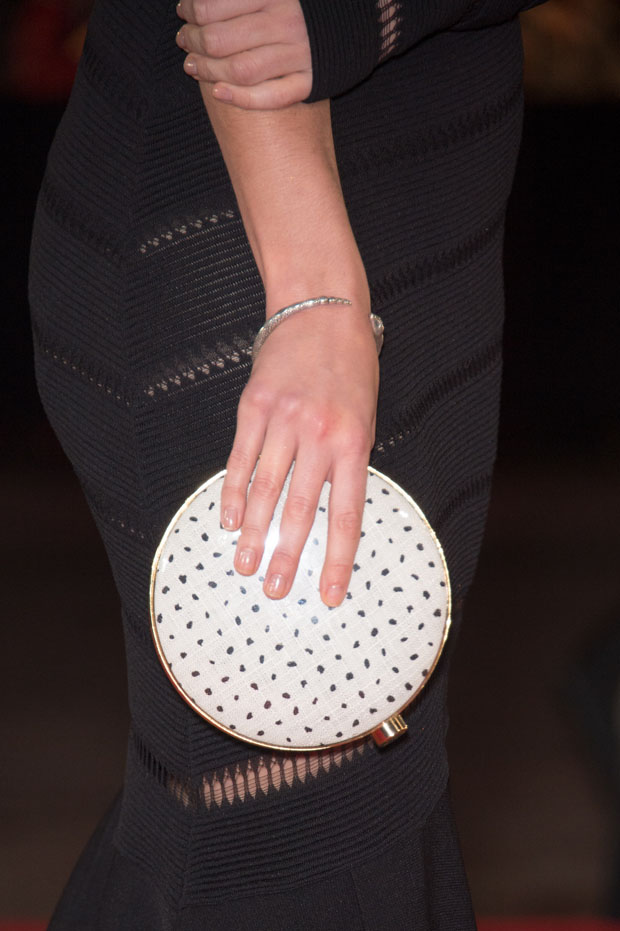 Gemma Arterton's clutch
