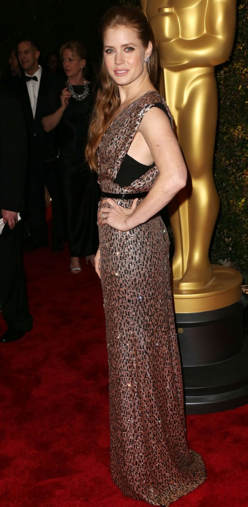 Amy Adams in Jenny Packham