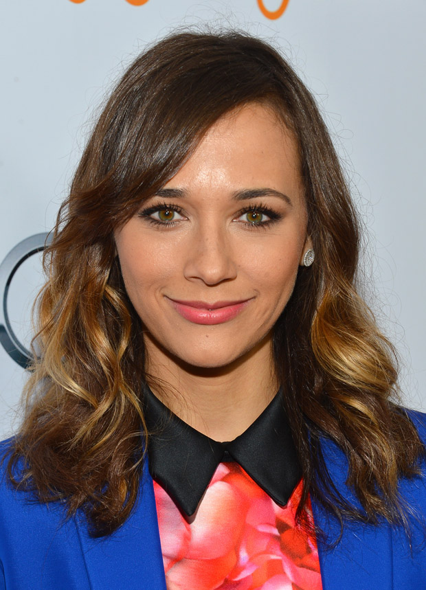 Rashida Jones in Celine and Peter Pilotto
