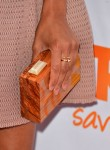 Zoe Saldana's Lanvin clutch