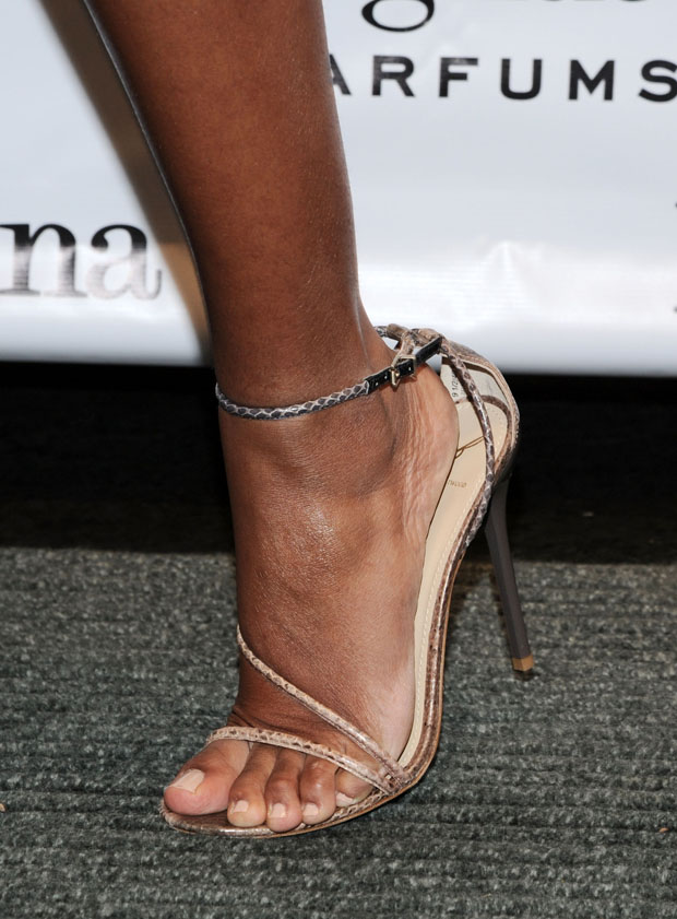 Solange Knowles' B Brian Atwood sandals