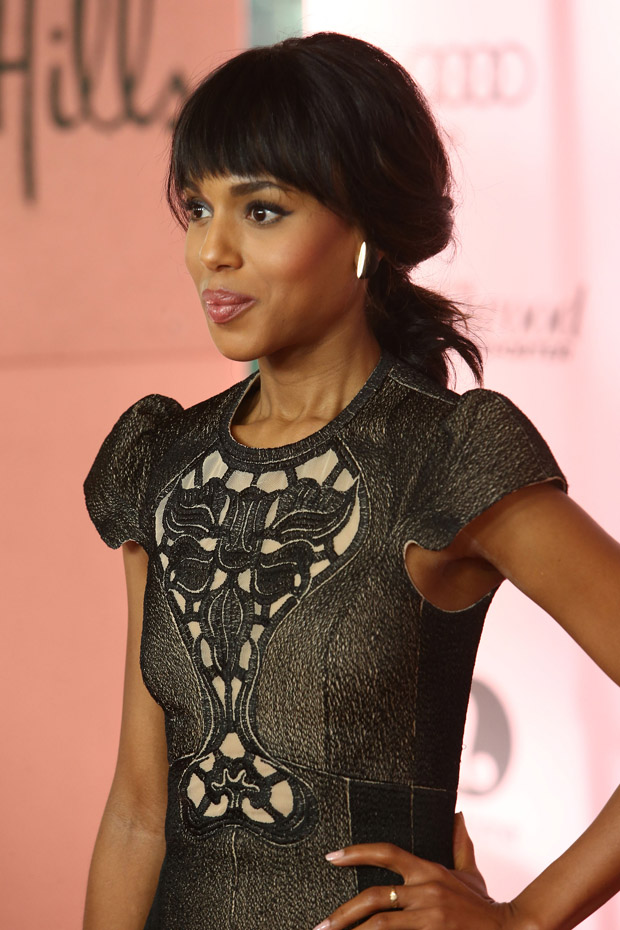 Kerry Washington in Carven