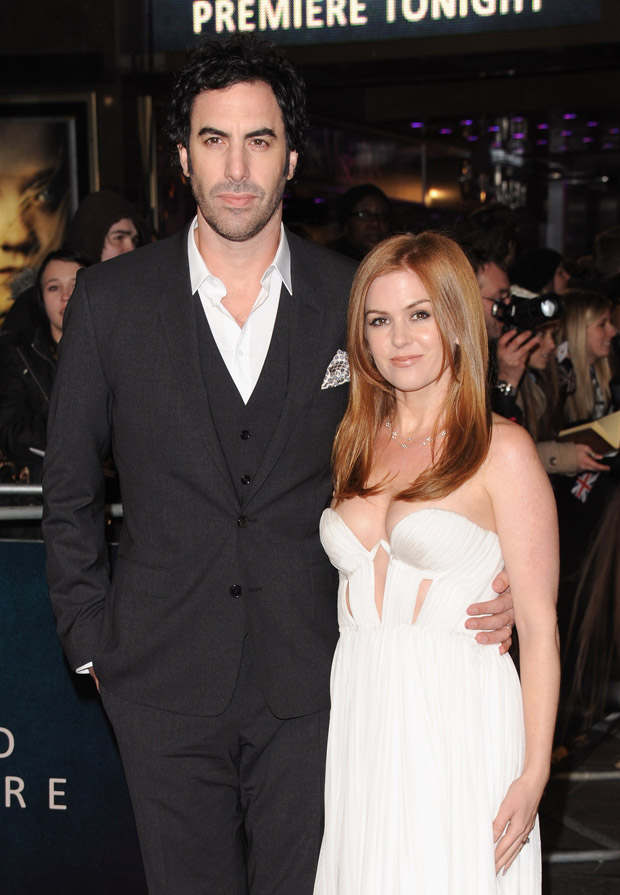Sasha Baron Cohen in Dolce & Gabbana and  Isla Fisher in Willow
