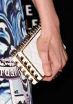 Bella Heathcote's Patrick Shannon 'Priscilla' quilted spike clutch