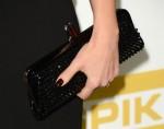 Jessica Alba's Christian Louboutin clutch