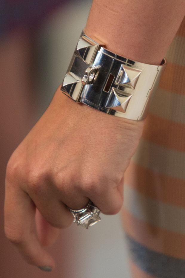 Hilary Duff's cuff
