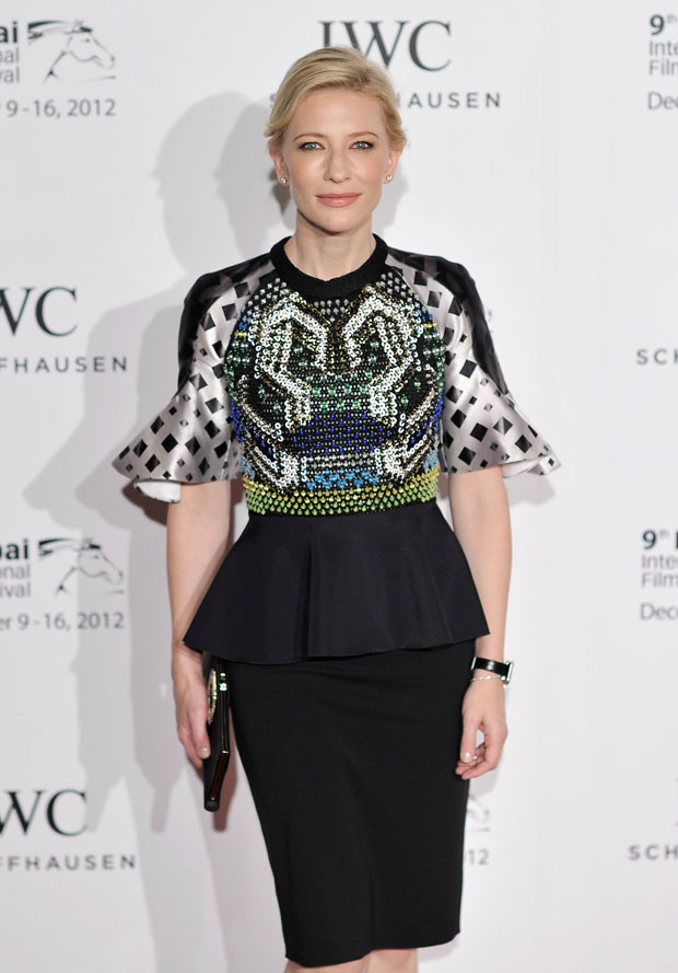 Cate Blanchett in Peter Pilotto