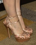 Jessica Chastain's Charlotte Olympia shoes