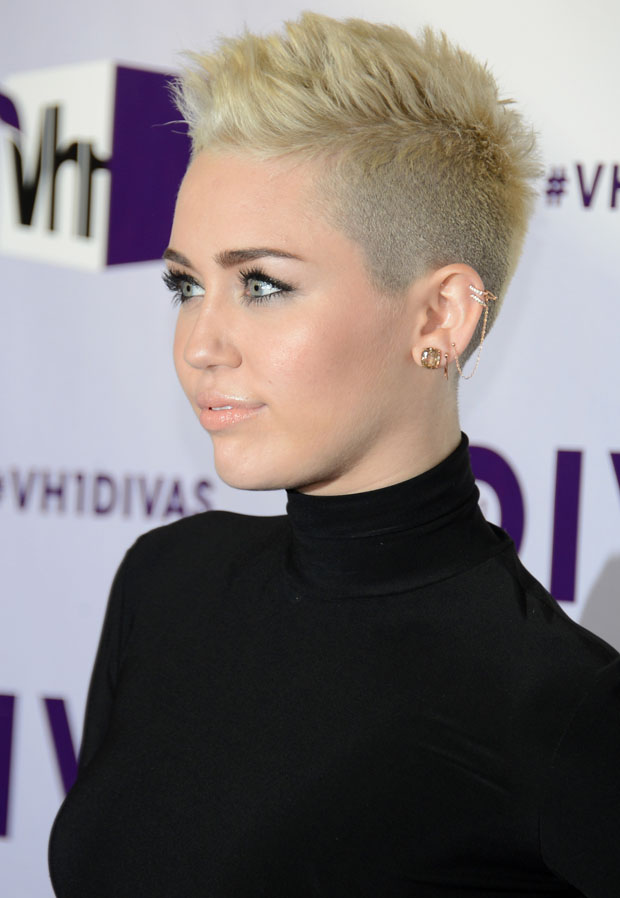Miley Cyrus in Omo by Norma Kamali