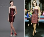 Allison Williams In J. Mendel - MuchMusic's New.Music.Live
