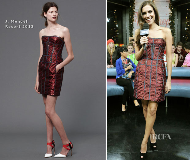 Allison Williams In J Mendel - MuchMusic's New Music Live